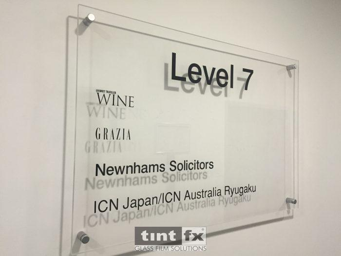 Branding Signage and Safety Decals - Gourmet Traveller Wine