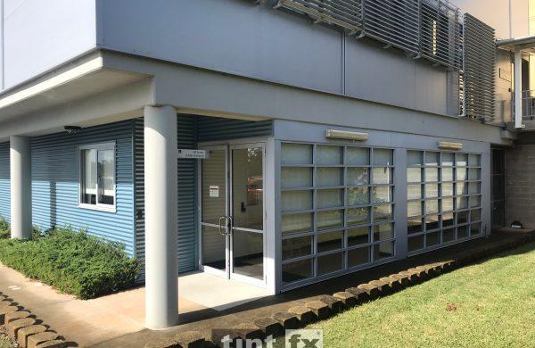 Solar Gard TrueVue 15 Port Macquarie Base Hospital external image 01 BEFORE