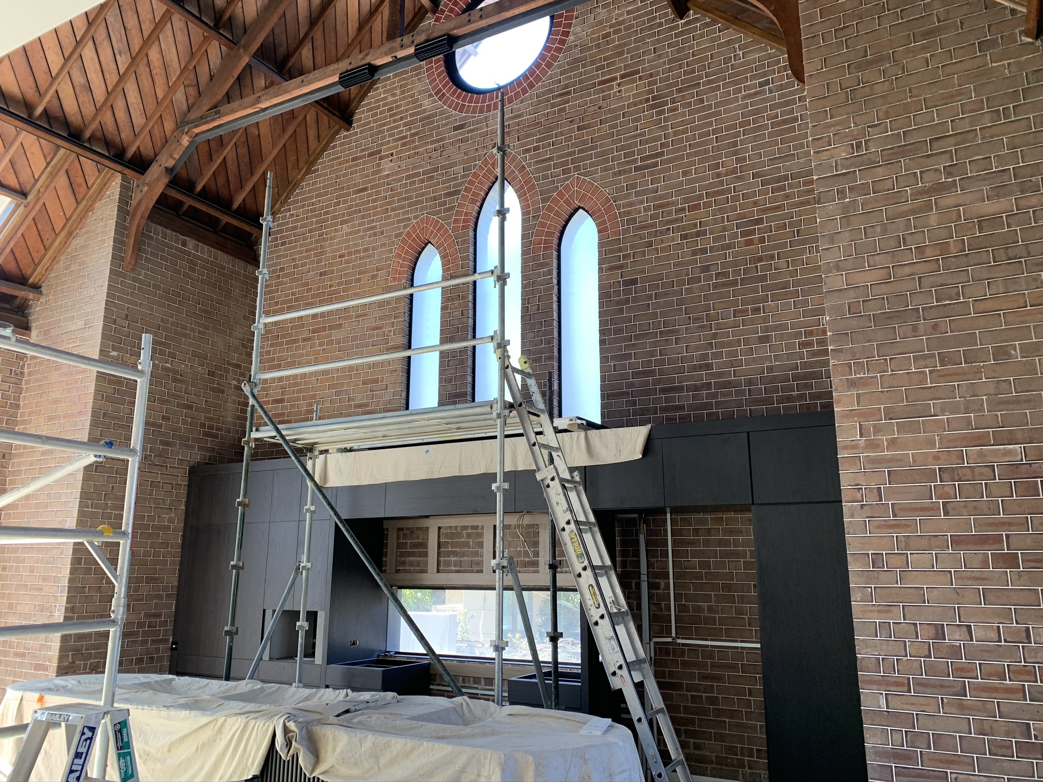 Privacy for Church Transformed into a Timeless Home - Woolwich