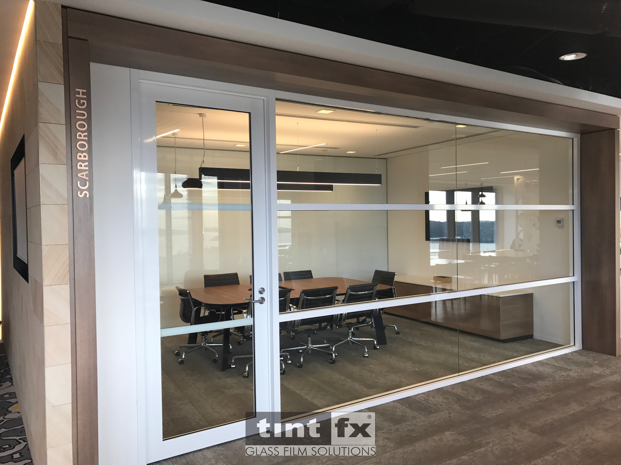 Computer Cut Graphics and Laser Cut Signage - Mundipharma Offices