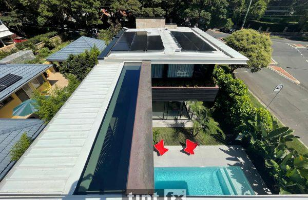 Extensive One Piece Skylight - Solar Protection - Clifton Gardens