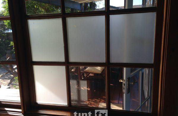 Residential Window Tinting - Privacy Window Film - 3M Dusted Frost - Collaroy