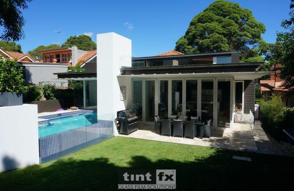 Residential Window Tinting - Solar Window Film - Solar Gard TrueVue 30 - Bifold Doors - Artarmon NSW