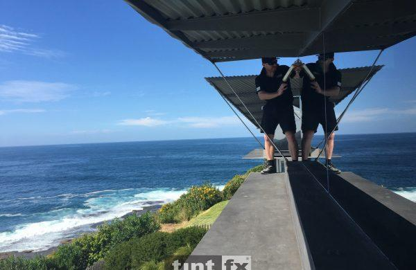 Residential Window Tinting - Solar Window Film - Solar Gard Sentinel Plus Stainless Steel 25 - Whale Beach