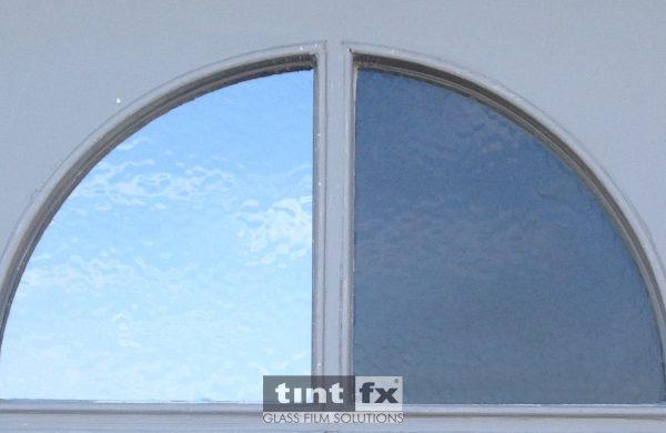 Residential Window Tinting - Solar Control Window Film - Solar Gard Sentinel Plus Stainless Steel 25 - Entry Door - Collaroy - TintFX