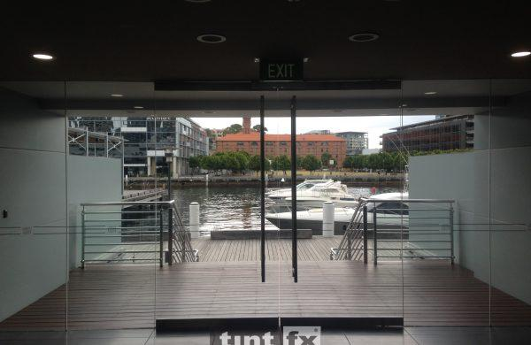 Solar Heat and Glare Reduction - Sydney Wharf Appartments