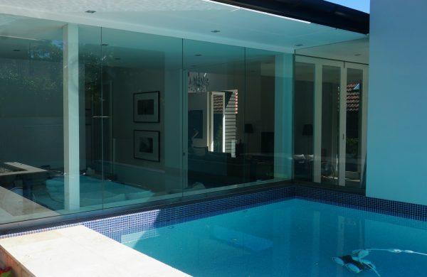 Residential Window Tinting - Solar Window Film - Solar Gard TrueVue 30 - Pool Area - Artarmon NSW