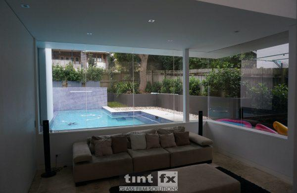 Residential Window Tinting - Solar Window Film - Solar Gard TrueVue 30 - Living Area - Artarmon NSW