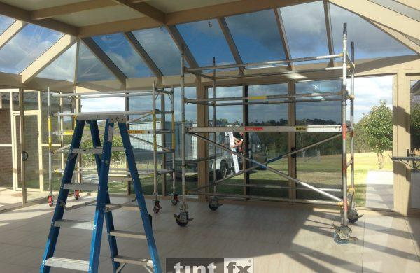 Solar Gard TrueVue 5 and 30 The Branch NSW internal image 03 work in progress