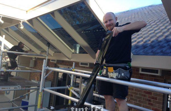 Solar Gard TrueVue 5 and 30 The Branch NSW internal image 06 work in progress