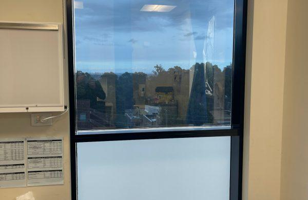 Residential Window Tinting - Frosted Decorative Privacy Film - DV17 Mk11 Milk Glass - Millers Point