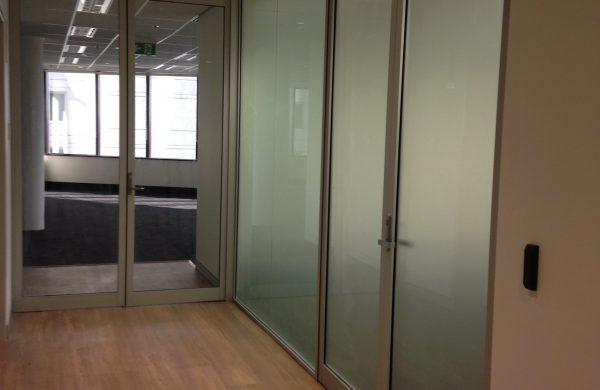 Commercial Window Tinting - Boardroom Space Privacy - Metamark M7 Frosted Etch - iNova Pharmaceuticals - Chatswood