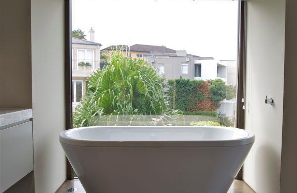 Solar Heat Reduction Window Film - Bathroom - Solar Gard Sterling 60 - Balmoral - internal image 01