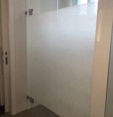 Bathroom Privacy, Decorative Window Film, Solyx Organic Cotton, Woolwich