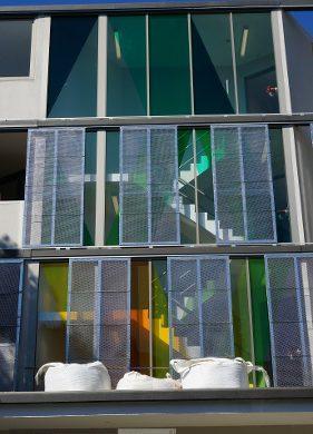 Coloured Transparent Film, Oracal 8300, Cumberland Building - Hall Street, BONDI, NSW - TintFX