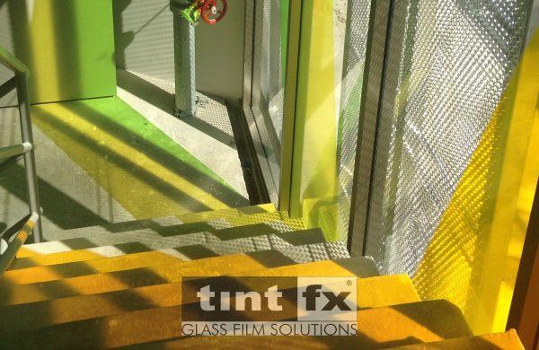 Coloured Transparent Films, Oracal 8300, Cumberland Building - Hall Street, BONDI, TintFX