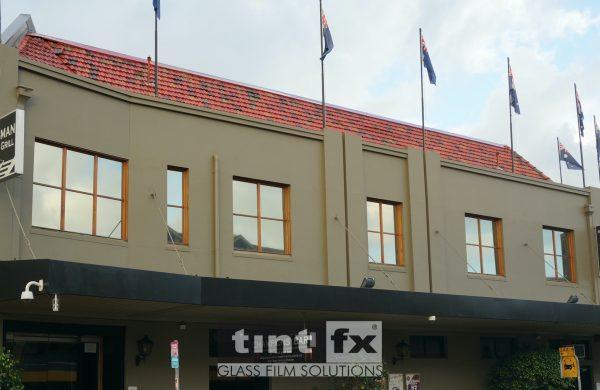 Dark Solar Window Film, Solar Gard Silver/Grey 20, Buena Vista Hotel, Mosman, TintFX