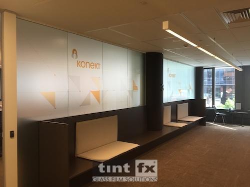 Metamark Dusted Etch Digital print Montage Interiors - Konekt - TintFX