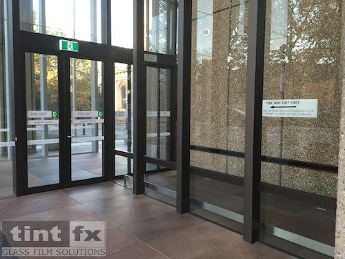 SureLinc Group - Queens Square Law Courts, 3M FASARA Milky Crystal SH2MLCRX, 01 Before, TintFX