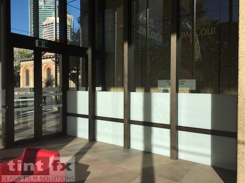 SureLinc Group - Queens Square Law Courts, 3M FASARA Milky Crystal SH2MLCRX, 05 After, TintFX