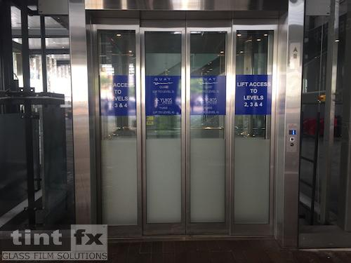 White Premium Cast Vinyl - Elevators - Overseas Passenger Terminal