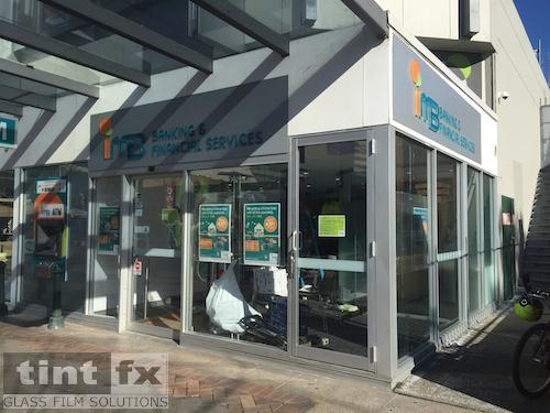 Anti Graffiti Film, Safety decals and privacy Film Triple H Liverpool TintFX