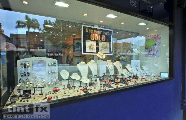 Solar Gard 200 Micron Clear Security - Troy O Brien - shopping window