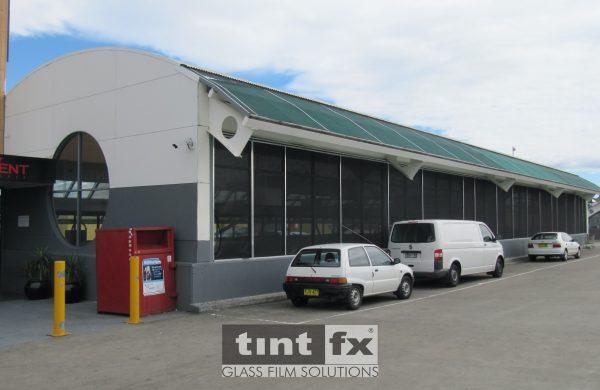 Solar Gard Silver 20 - Liverpool - Westfield Shopping Centre - TintFX Before 03