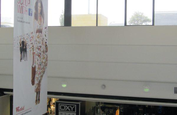 Solar Gard Silver 20 - Liverpool - Westfield Shopping Centre - TintFX Before 07