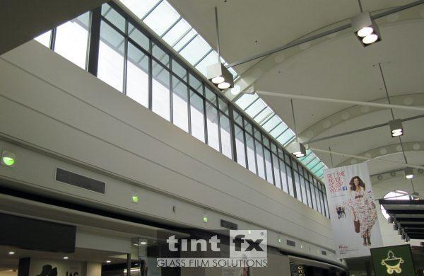 Solar Gard Silver 20 - Liverpool - Westfield Shopping Centre - TintFX Before 08